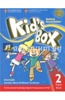 Kid's Box Upd 2Ed PB 2 cambridge learners dictionary english russian paperback with cd rom
