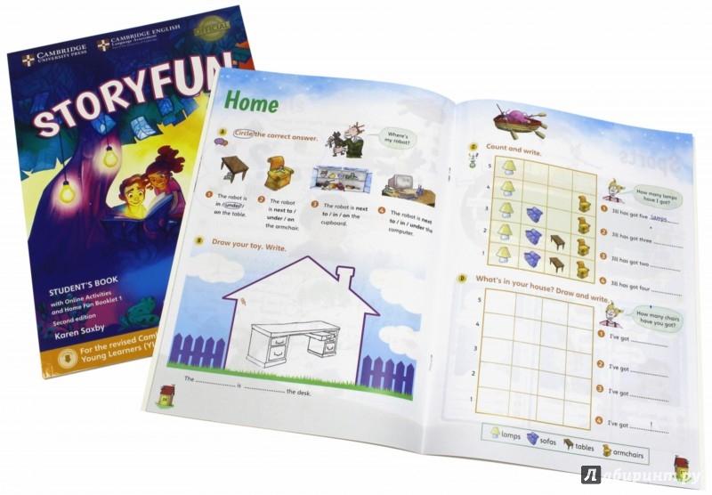 Иллюстрация 1 из 17 для Storyfun for Starters. Level 1. Student's Book with Online Activities and Home Fun. Booklet 1 - Saxby, Owen | Лабиринт - книги. Источник: Лабиринт
