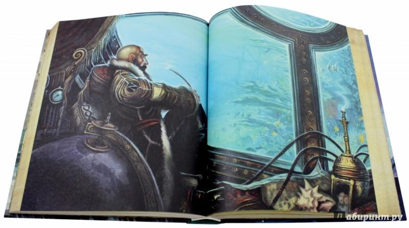 Иллюстрация 1 из 65 для Двадцать тысяч лье под водой - Жюль Верн | Лабиринт - книги. Источник: Лабиринт