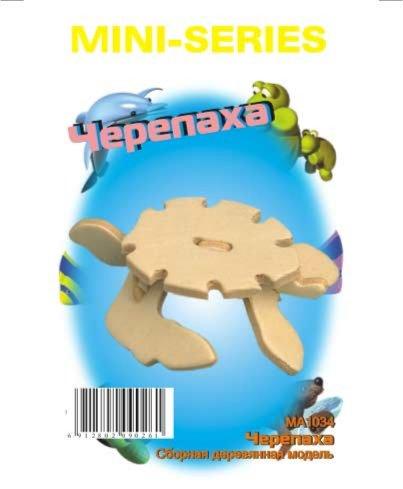 """Иллюстрация 1 из 18 для Сборная деревянная модель """"Черепаха"""" (MA1034)   Лабиринт - игрушки. Источник: Лабиринт"""