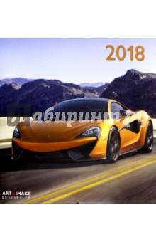 Календарь 2018 Высокая скорость 30*30 (95610)