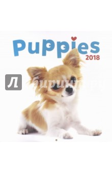 2018 Календарь Puppies 30*30 (PGP-4750-V) 2018 календарь venice 30 30 pgp 4745 v