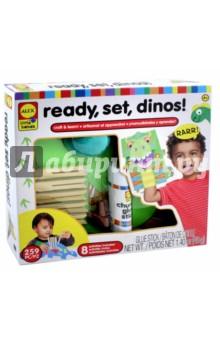 Купить Набор для поделок Динозавры (250020-3), ALEX, Другие виды конструирования из бумаги