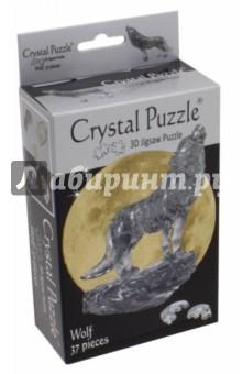 3D головоломка Черный волк (90255) пазлы crystal puzzle 3d головоломка эйфелева башня 96 деталей