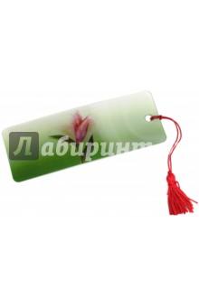"""3D-закладка для книг с линейкой """"Удивительный цветок"""" (128095)"""