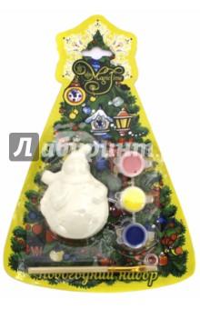 Набор новогодний для творчества Снеговик круглый (75930) набор для творчества creative creative набор для творчества гелевые свечи