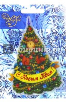Украшение новогоднее Новогодняя ёлка в узорах (42209/20) новогодняя ёлка