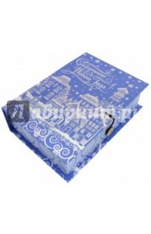 Коробка подарочная Заснеженный город ( 75027) коробка подарочная феникс презент восточный калейдоскоп 16 6 х 7 6 х 1 см