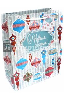 Пакет бумажный 26х32.4х12.7 см Стеклянные игрушки (75374) пакет феникс бумажный с тиснением старые карты 12 7 36 8 3см 40890