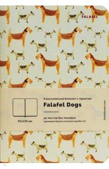 Блокнот A6 40л. Dogs крем.бумага 402710 блокнот index in0201 a640 a6 40 листов в ассортименте in0201 a640