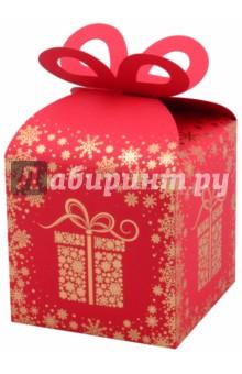 """Коробка подарочная """"Подарок"""" (11,5x11,5х11,5 см) (45851)"""