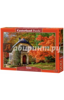 Puzzle-500 Дом осенью (B-52806) puzzle 500 стокгольм швеция b 52790