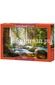 Puzzle-500 Свет в лесу (B-52875) puzzle 500 стокгольм швеция b 52790