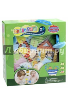 Стикеры для ванны Веселая ферма (BB012) barneybuddy barneybuddy игрушки для ванны стикеры замок принцессы