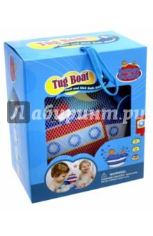 Стикеры для ванны Построй параходик (BB014)