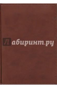Ежедневник 128 листов, А5, кожзам