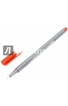 """Капиллярная ручка """"Triplus"""" 0.8мм, алый (334-24)"""