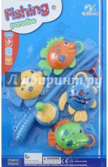 Игра Рыбалка (удочка + 4 рыбки) (34-D) игрушка для животных каскад удочка с микки маусом 47 см