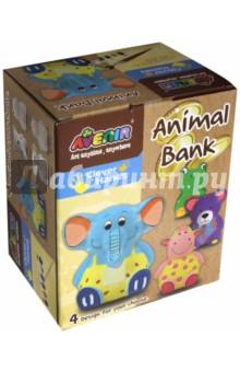 Набор для росписи копилки Слон (AL2016) набор для детского творчества набор веселая кондитерская 1 кг