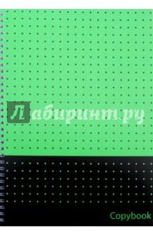 Тетрадь для конспектов 80 листов, А4, гребень Микс 2 (29017)