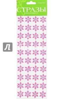 Набор самоклеящихся страз, 4 цвета №80 СНЕЖИНКИ (2-129/11) hasbro play doh игровой набор из 3 цветов цвета в ассортименте с 2 лет