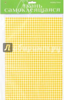 Купить Ткань самоклеящеяся, 2 листа, А4 КЛЕТКА 4 вида (2-262/01), Альт, Сопутствующие товары для детского творчества