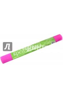 Бумага креповая флористическая, розовая флуоресцентная (2-052/07).