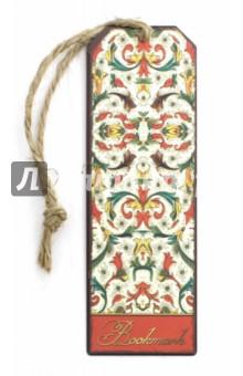 Закладка для книг Цветочный узор (43579) magic home закладка декоративная для книг цветочный узор