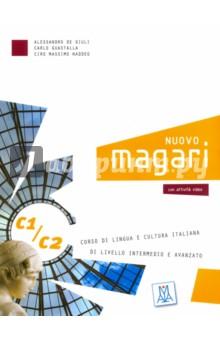 Nuovo Magari C1-C2 (libro + 2CD audio) la casa sulla scogliera livello due b1 cd