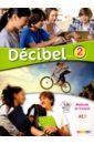 Butzbach Michele, Pastor Dolores-Daniele, Martin Carmen Francais, Decibel 2 niveau A2.1 - Methode de francais (+CDmp3+DVD)