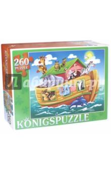 Купить Пазл Ноев ковчег (260 элементов) (ПК260-5858), Konigspuzzle, Пазлы (200-360 элементов)