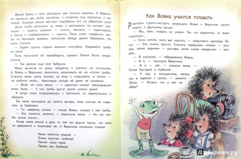 Иллюстрация 1 из 22 для Жили-были ежики - Андрей Усачев   Лабиринт - книги. Источник: Лабиринт