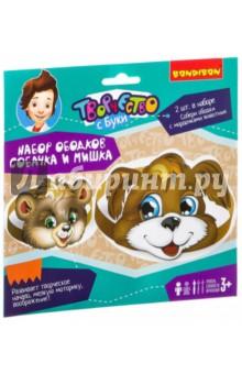 Набор ободков Собачка и Мишка (ВВ2174) набор ободков котенок и зайчик вв2150