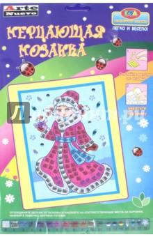 Мерцающая мозаика Снегурочка (DT-1027 NY-6) набор апплика мерцающая мозаика c1573