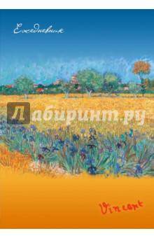 """Ежедневник недатированный """"Ван Гог. Пшеничное поле"""", А5"""