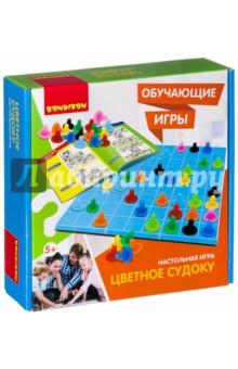 Купить Настольная обучающая игра Цветное судоку (ВВ2425), BONDIBON, Обучающие игры