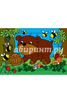 Развивающие рамки. Медвежонок (3216) развивающие игры