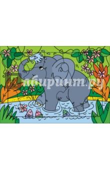 Развивающие рамки. 3214 Слоненок раннее развитие радуга тренажер для развития зрительного восприятия