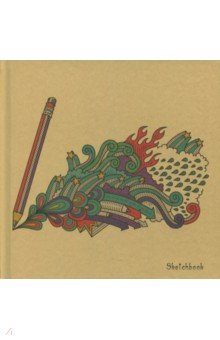 Скетчбук Творчество (80 листов,195х195 мм) (СК5804619) скетчбук цветные мишки 80 листов 195х195 мм спираль тс5804483
