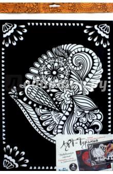 Картина-раскраска 2шт Лебединая песня (03160) набор для творчества 3d пазл для раскрашивания арт терапия спасская башня