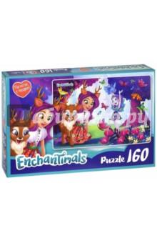 Enchantimals. Пазл Даниэсса и Пэттер (160 элементов, + магнитик) (03544) enchantimals пазл 160 магнитик фелисити и сейдж 03543
