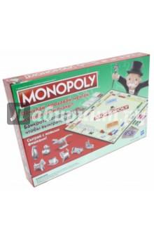 Купить Настольная игра Классическая Монополия , обновленная (С1009121), Hasbro, Бизнес-игры