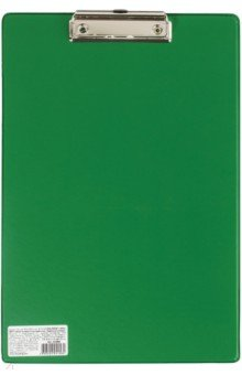 Доска-планшет Comfort с верхним прижимом, зеленая (222663) планшет