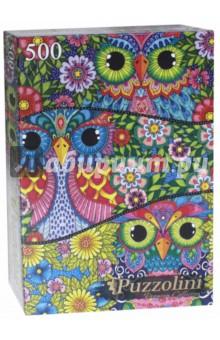 Puzzle-500 Яркие совы (ALPZ500-7701) puzzle 500 яркие совы alpz500 7701