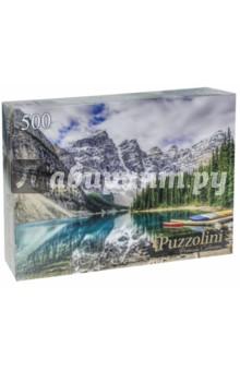 Puzzle-500 Озеро Морейн и долина Десяти пиков (GIPZ500-7682) пазлы crystal puzzle 3d головоломка вулкан 40 деталей