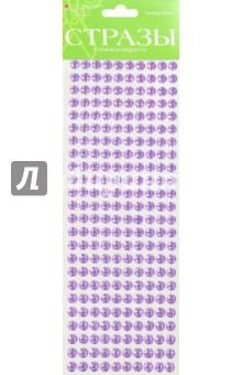 Купить Стразы самоклеящиеся, 6 цветов, 8 мм, № 13 ОДНОТОННЫЕ (2-126/01), Альт, Сопутствующие товары для детского творчества