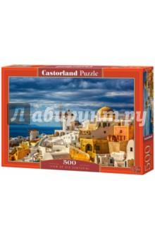 Купить Puzzle-500 Вид Санторини (B-52905), Castorland, Пазлы (400-600 элементов)