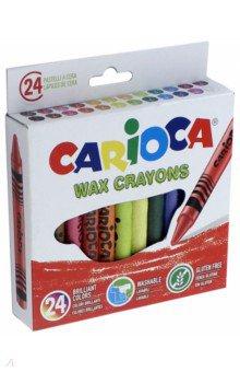 Набор восковых мелков 24 цветов WAX CRAYONS (42366) набор восковых мелков 12 цветов wax crayons 42365
