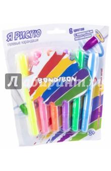 Набор гелевых карандашей с поворотным механизмом (6 цветов) (ВВ2236)