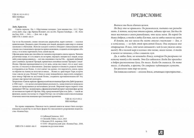 Иллюстрация 1 из 53 для Сквозь зеркала. Книга 1. Обрученные холодом - Кристель Дабо | Лабиринт - книги. Источник: Лабиринт
